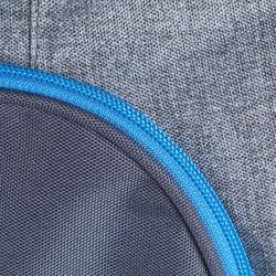 Bolsa de transporte con ruedas equitación TROLLEY 80 L azul y gris