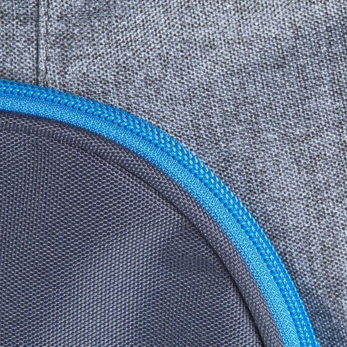 Transporttasche mit Rollen Trolley Sporttasche Reitzubehör 80L blau/grau