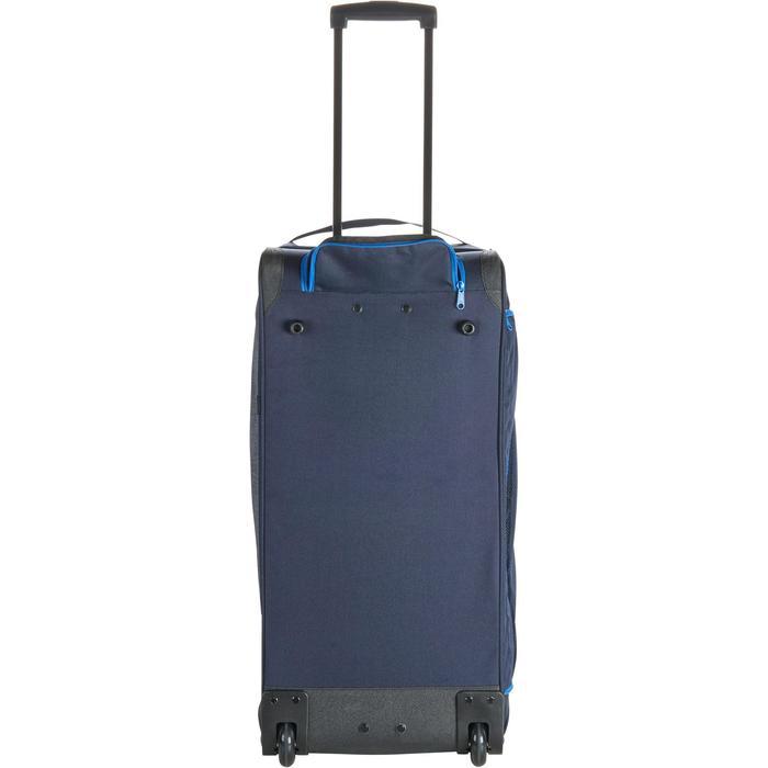 Sac de transport à roulettes équitation TROLLEY 80 L bleu et - 1256406