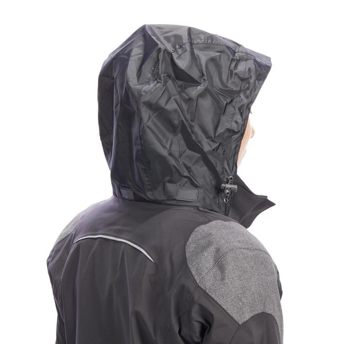 Regenjacke 500 Damen dunkelgrau