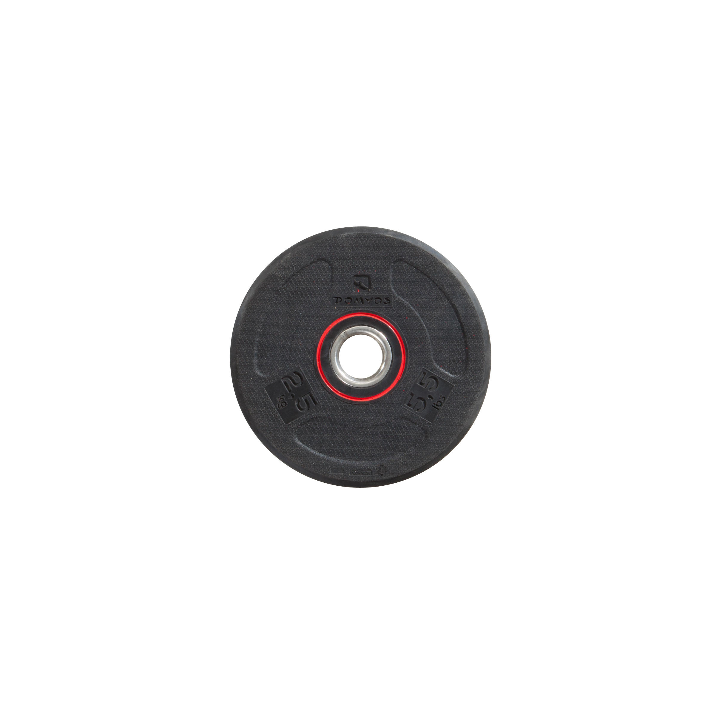 Rubber Weight Disc 28 mm 2.5 kg