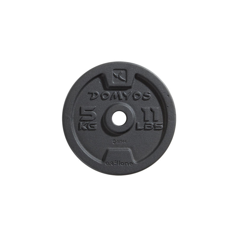 Disco de aleación musculación 0,5 kg - 28 mm (VALOR VARÍA SEGÚN PESO)