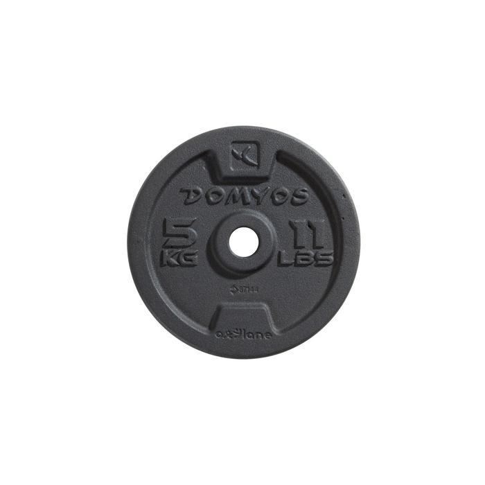 Gietijzeren schijf voor krachttraining 28 mm - 1256469