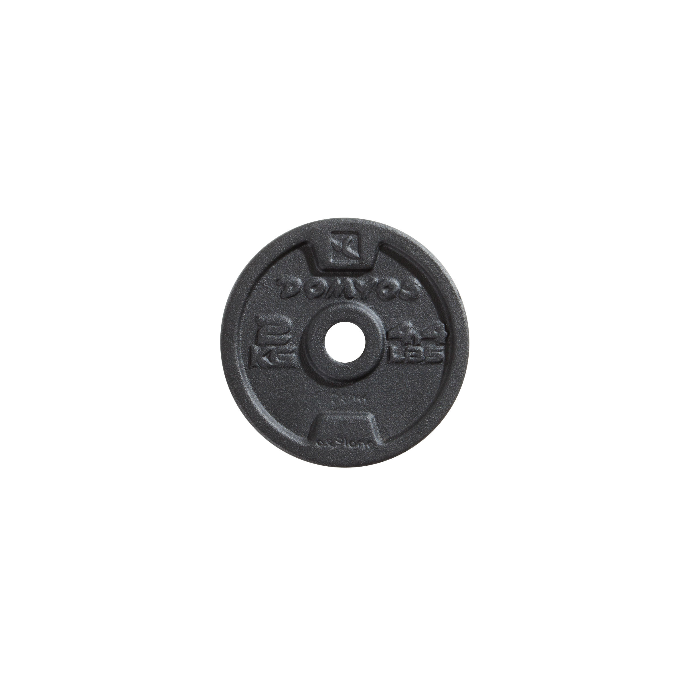 1,25kg 10kg 20kg et Ensembles 5kg Plateau de Poids en Fonte Roue /à Disque Tri-Grip KAWMET 28,5mm 2,5kg