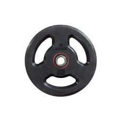Rubber Weight Disc with Handles 28 mm 10 kg