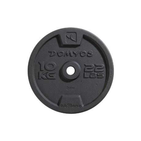 Disque De Fonte Musculation 28 Mm Domyos By Decathlon