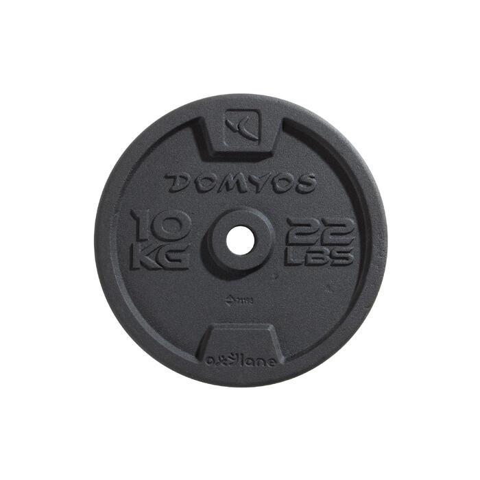Gietijzeren schijf voor krachttraining 28 mm - 1256486