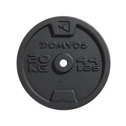 Gietijzeren schijf voor krachttraining 28 mm