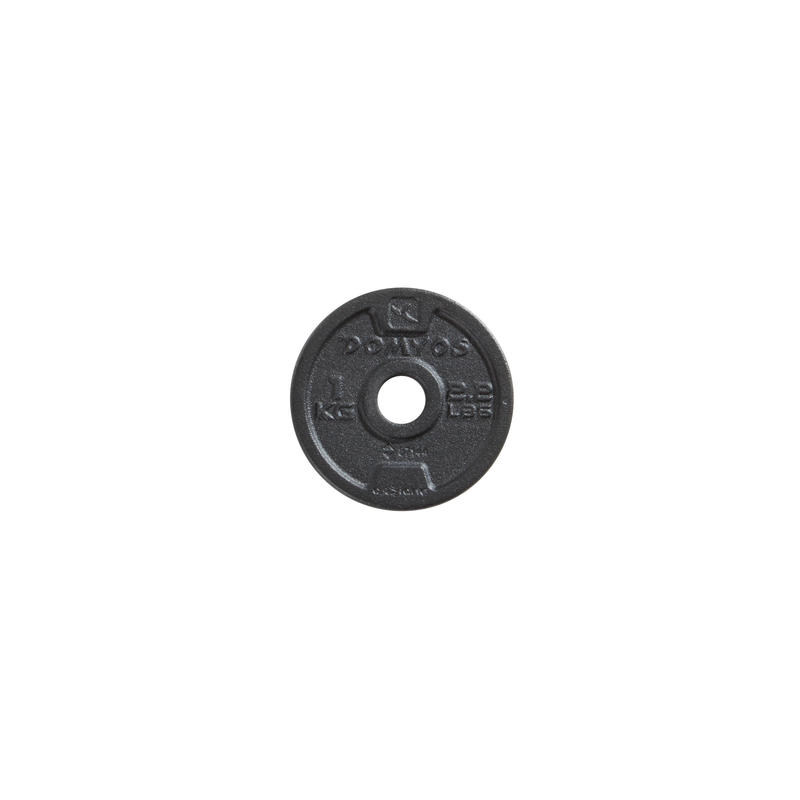 Cast Iron Weight Training Disc Weight 28mm
