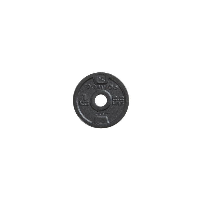 Gietijzeren schijf voor krachttraining 28 mm - 1256493