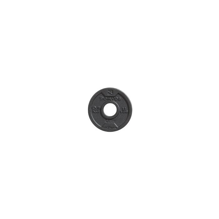 Disque de fonte musculation 28 mm - 1256496
