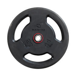 Rubber Weight Plate with Handles 28 mm 20 kg