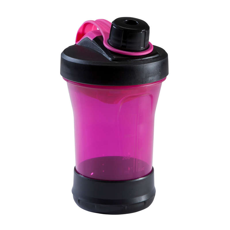 PROTEINY / DOPLŇKY STRAVY Triatlon - SHAKER 500 ML RŮŽOVÝ DOMYOS - Výživa a hydratace