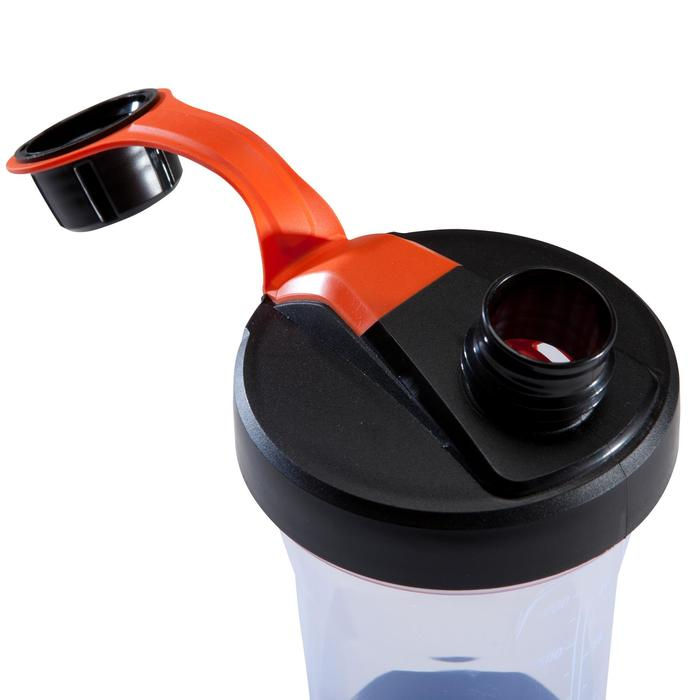 Shaker 700 ml schwarz/orange