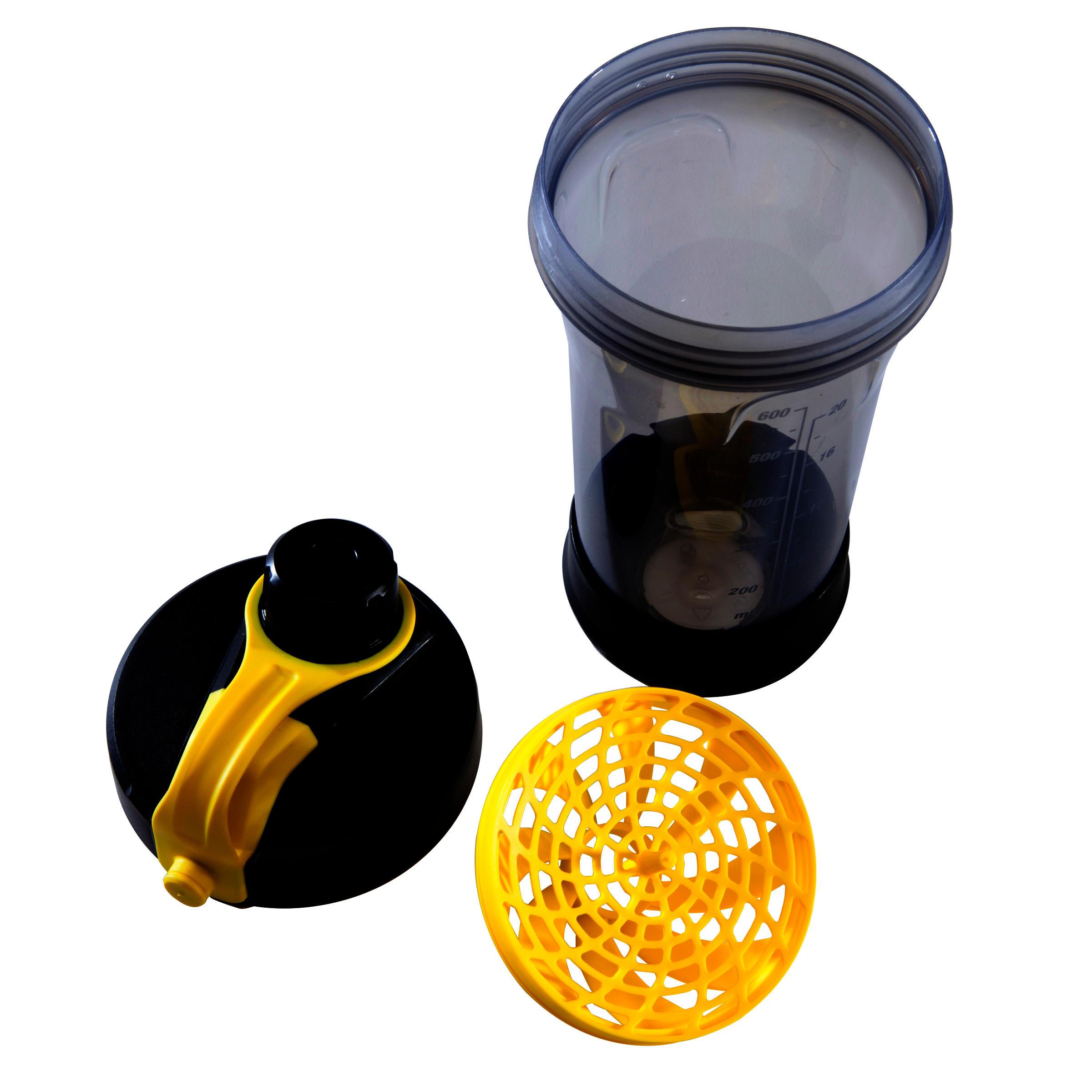 Shaker 700 ml - Black/Yellow