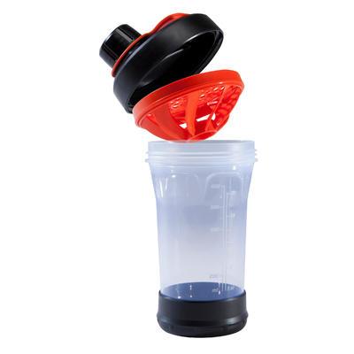 Shaker 700 ml - Black/Orange
