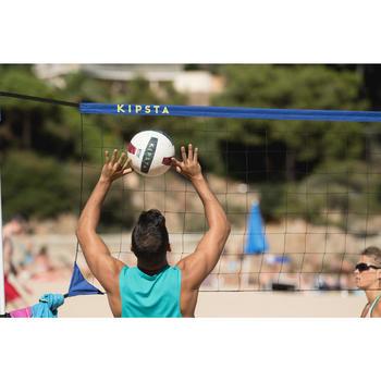 Ballon de beach volley BV500 bleu et marron
