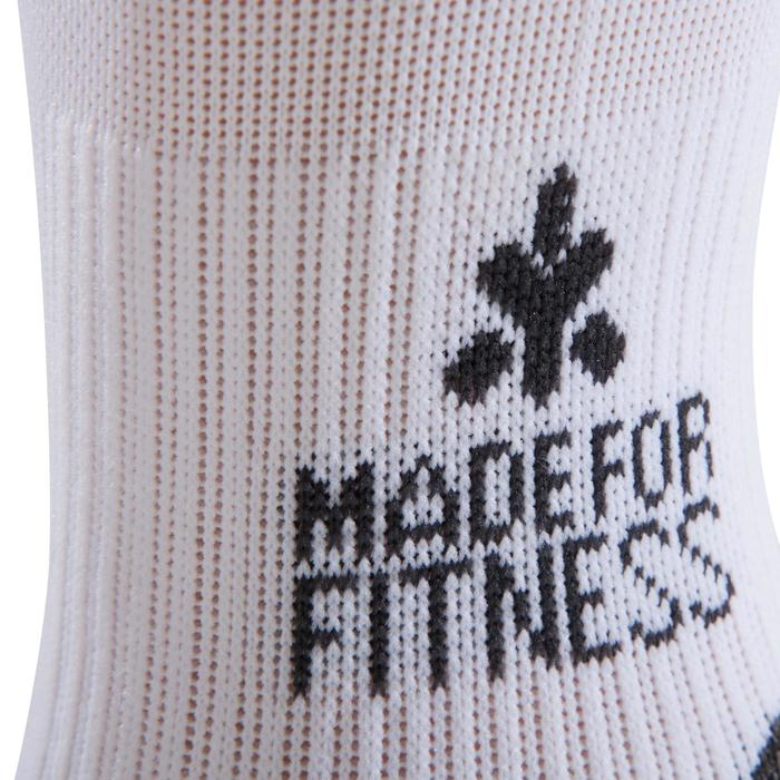 CHAUSSETTES CROSSTRAINING BLANCHES - 1256656