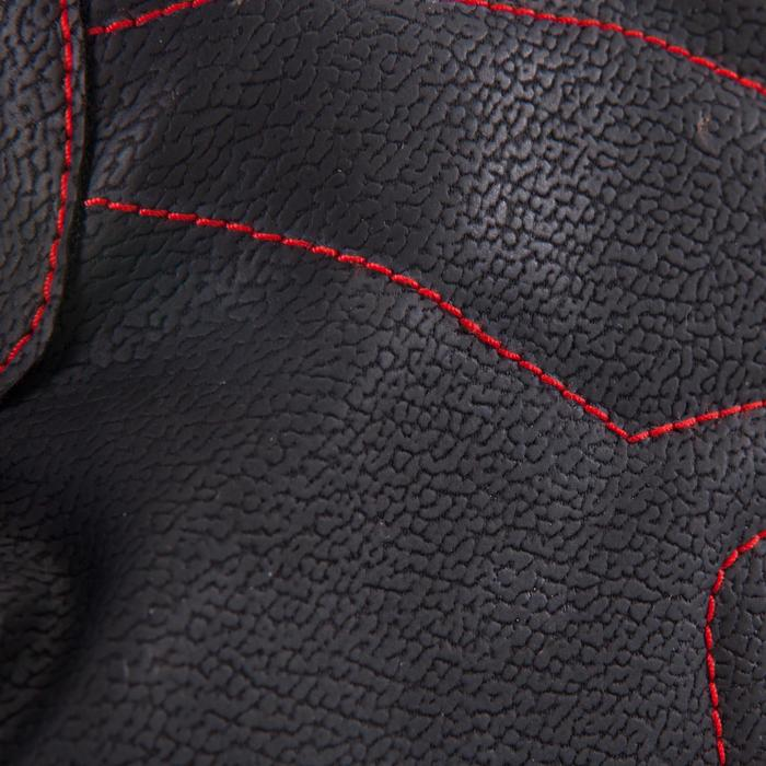 Handschoen spiertraining 100 Domyos zwart rood