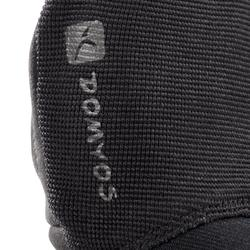 900 Weight Training Glove with Double Rip-Tab Cuff - Black/Grey