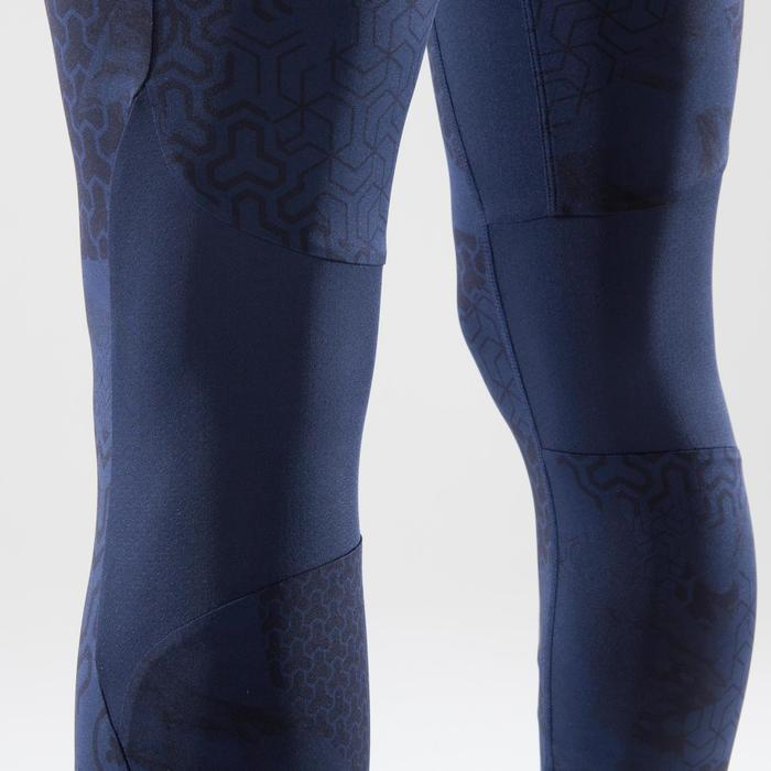 LEGGINGS DE CROSS TRAINING 500 MUJER AZULES