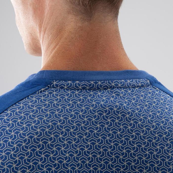 T-Shirt 500 Crosstraining Herren blau