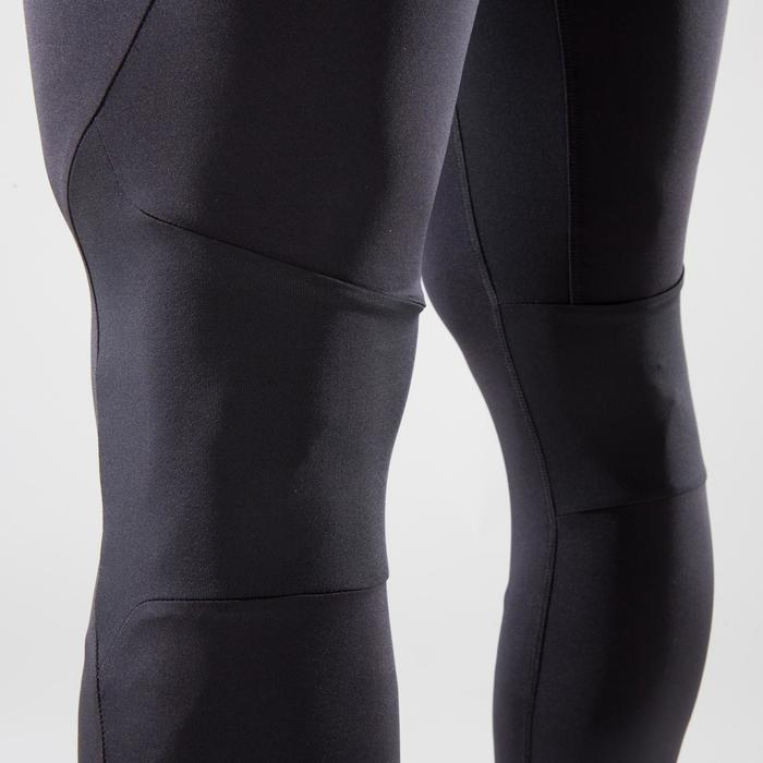 Legging crosstraining 500 heren zwart
