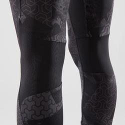 LEGGINGS DE CROSS TRAINING 500 MUJER NEGROS