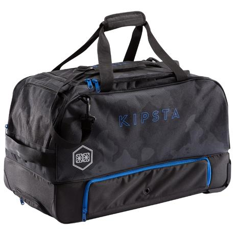 sac de sports collectifs roulettes hardcase 70 litres bleu kipsta by decathlon. Black Bedroom Furniture Sets. Home Design Ideas