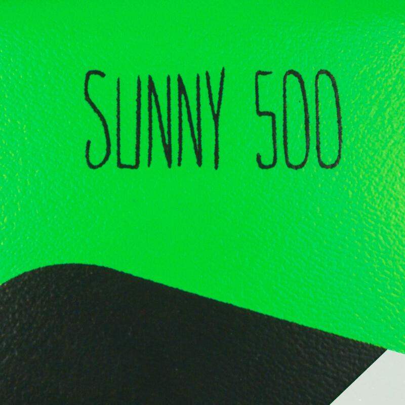 ลูกฟุตบอลรุ่น Sunny 500 เบอร์ 5 (สีเขียว/ฟ้า/ดำ)