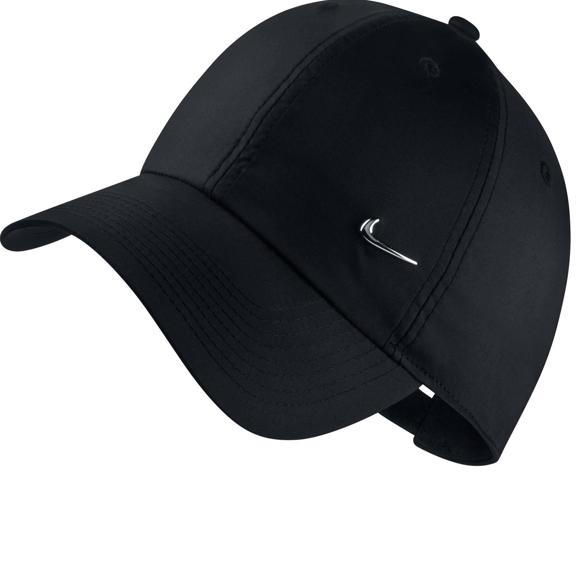 picked up hot new products wholesale sales Casquette Nike fitness metal swoosh noir