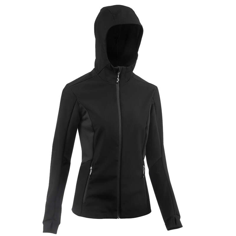 ДАМСКО SOFTSHELL ОБЛЕКЛО ЗА ПЛАНИНСКИ ТРЕКИНГ Облекло - SOFTSHELL ЯКЕ TREK500 WINDWARM FORCLAZ - Горнища