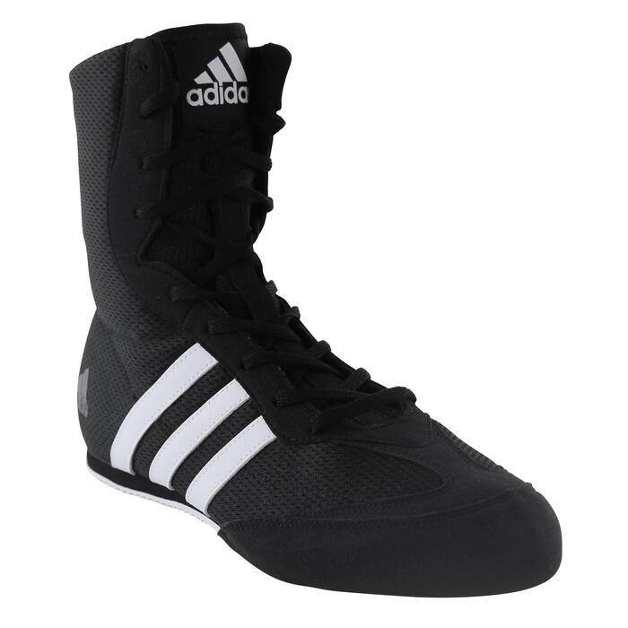 fuerte Disparates Resistente  Botas de Boxeo inglés adulto Adidas BoxHog II negro ADIDAS | Decathlon