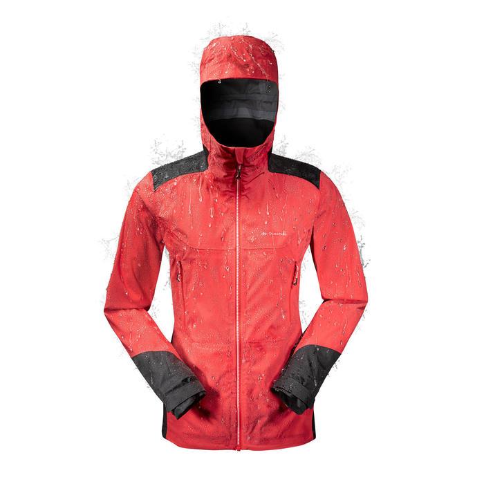 Veste de pluie imperméable de randonnée montagne MH900 Femme - 1257084