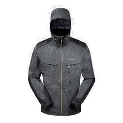 MH900 男士健行運動防雨夾克 - 黑色