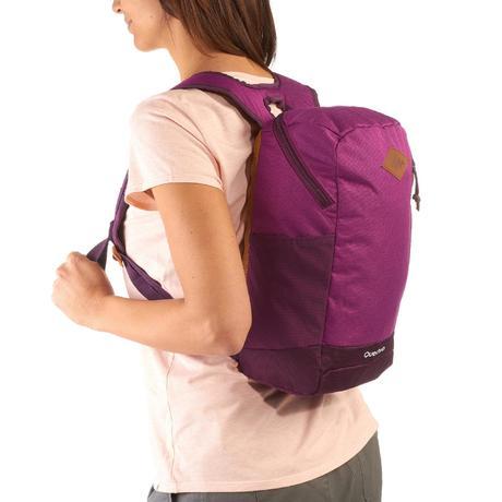 sac a dos de randonn e nh500 10 litres violet quechua. Black Bedroom Furniture Sets. Home Design Ideas