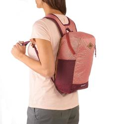 10L Country Walking Backpack NH500 - salmon