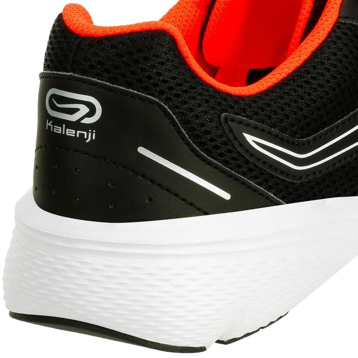 RUN CUSHION MEN'S RUNNING SHOES - BLACK/ORANGE