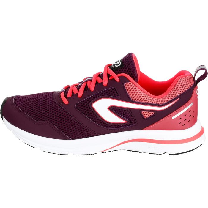 CHAUSSURES JOGGING FEMME RUN ACTIVE CORAIL - 1257136