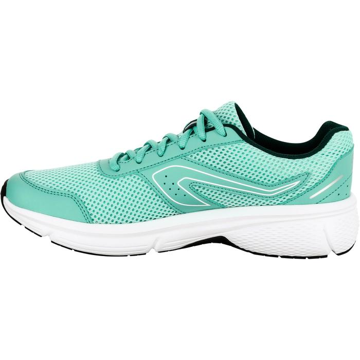 Laufschuhe Run Cushion Damen hellgrün