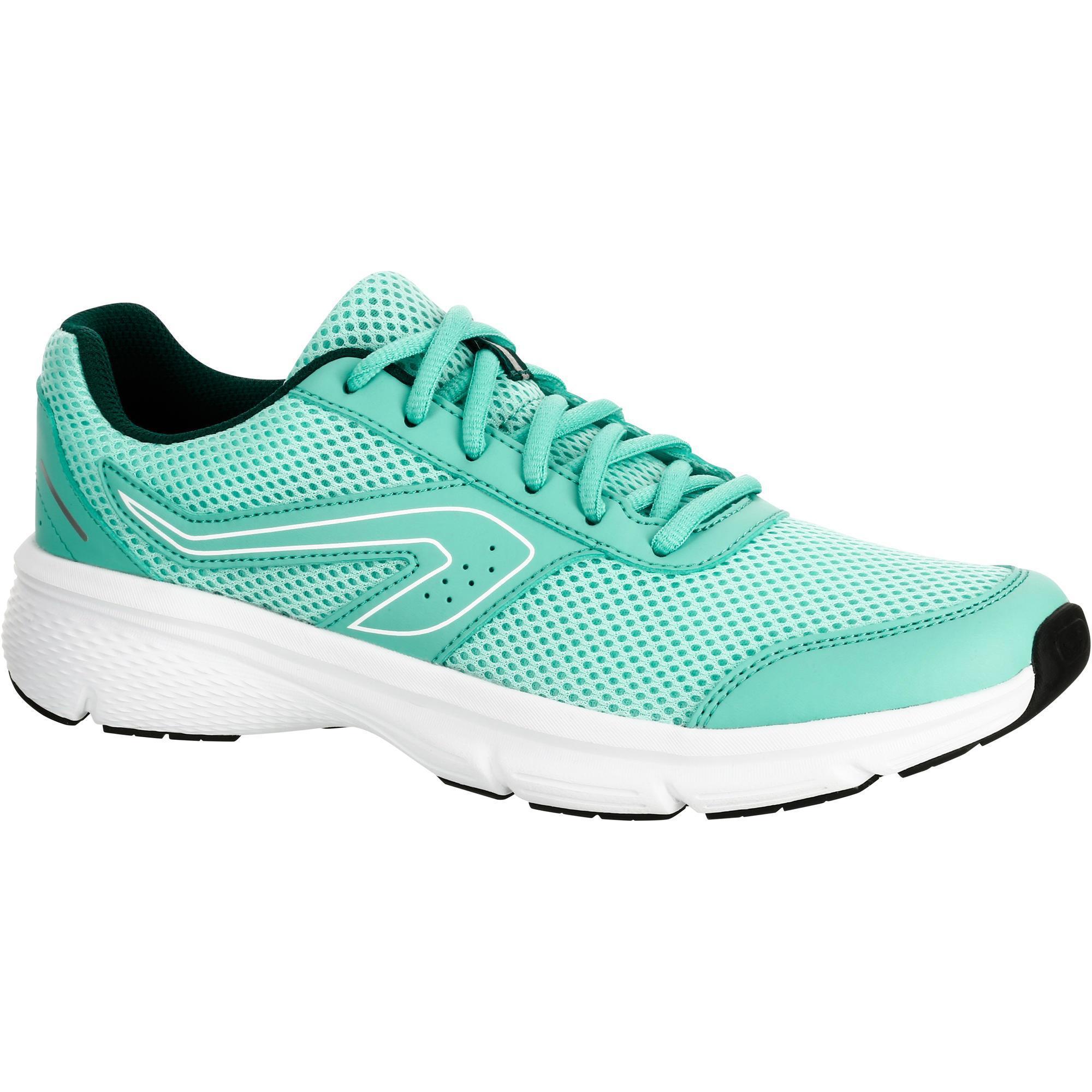 Kalenji Joggingschoenen voor dames Run Cushion lichtgroen kopen