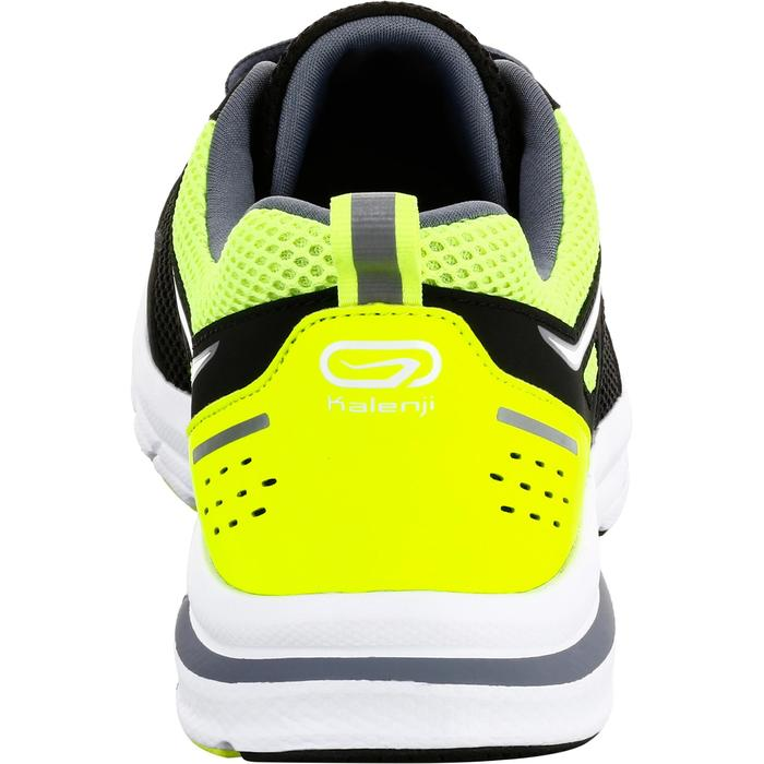 Hardloopschoenen voor heren Run Active zwart/geel