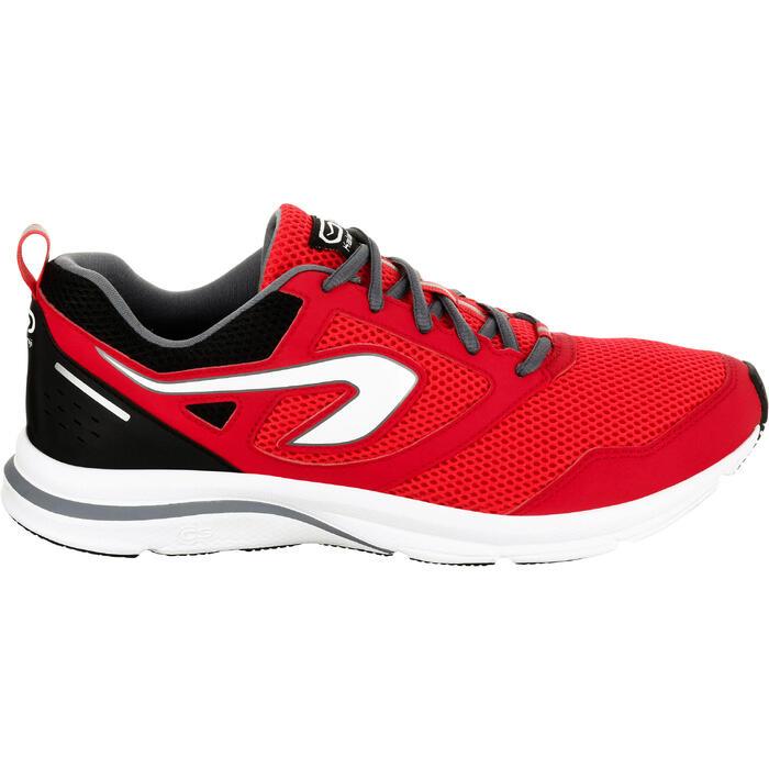 Zapatillas Running Kalenji Run Active Hombre Rojo/Negro