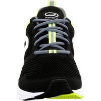 Run Active Running Shoes - Black Yellow - Men's