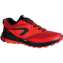 Trailschoenen heren Kiprun Trail TR rood zwart