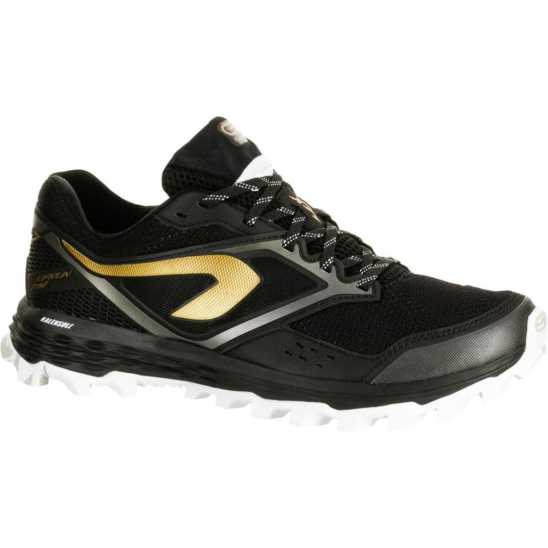 XT7 trail running shoes for women black and bronze