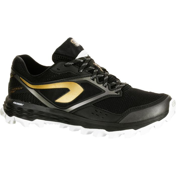 Laufschuhe Trail Kiprun XT 7 Damen schwarz/bronze