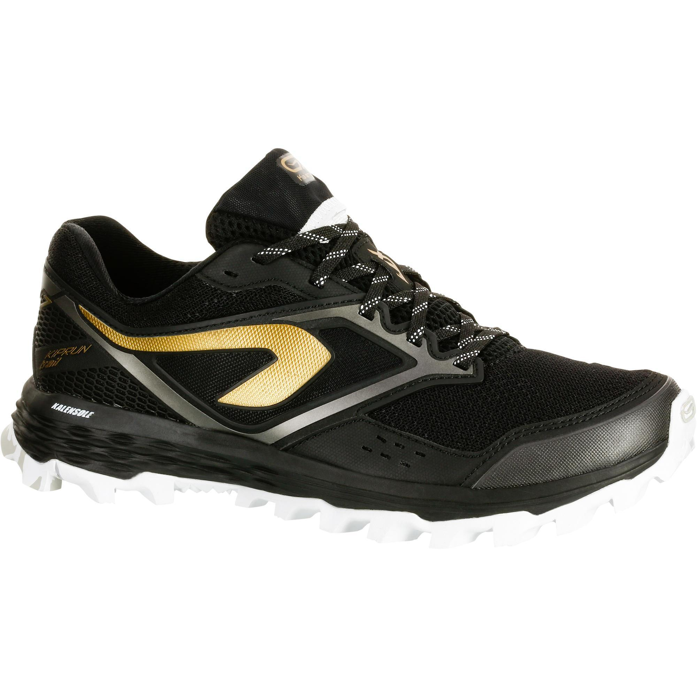 2501104 Kalenji Trailschoenen voor dames Kiprun Trail XT 7 zwart brons