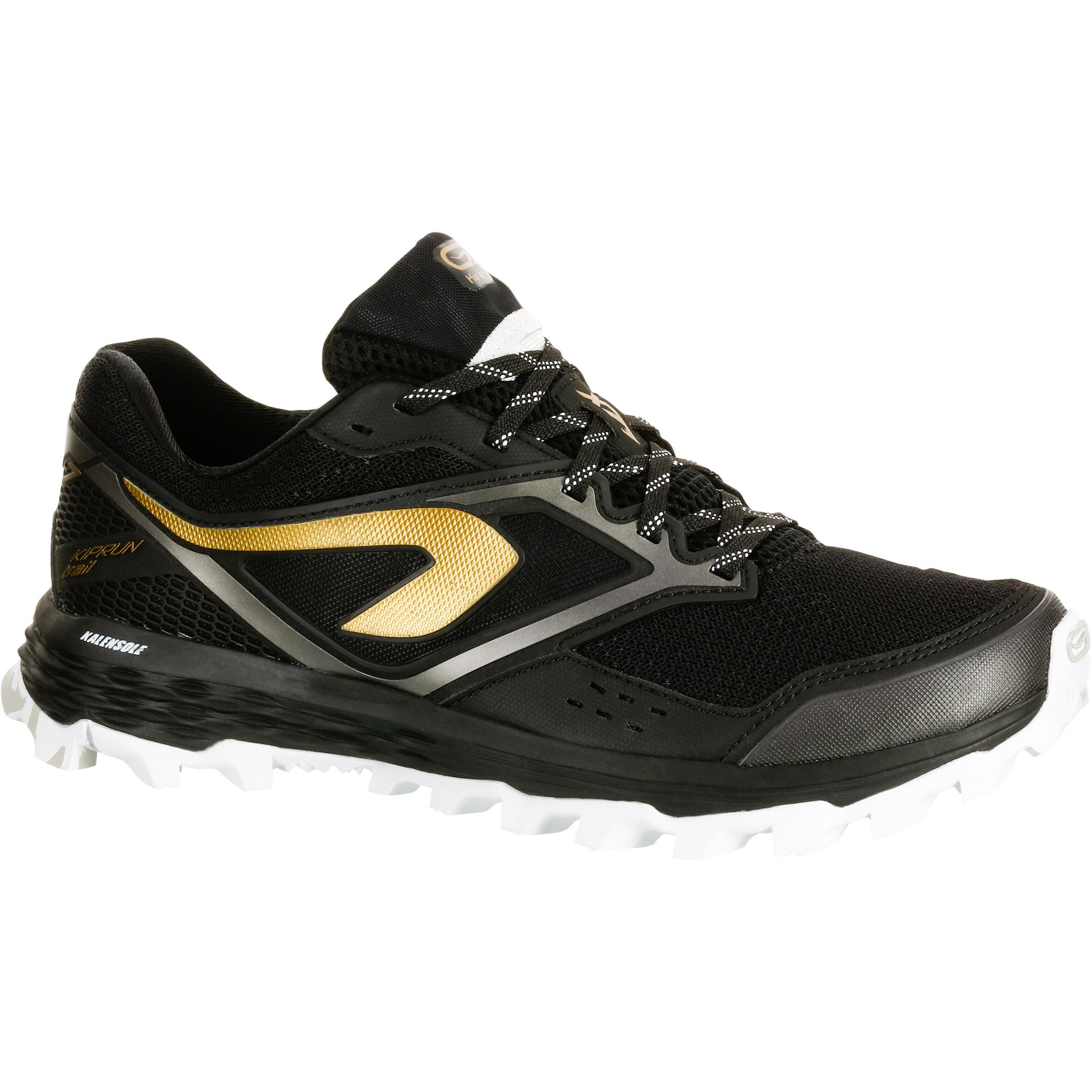 Kalenji Trailschoenen voor dames Kiprun Trail XT 7 zwart brons