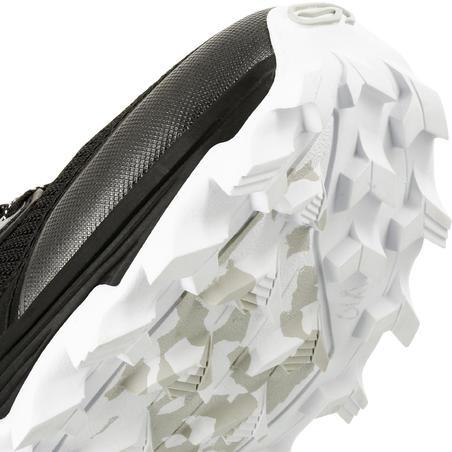 XT7 sepatu lari gunung wanita hitam bronze
